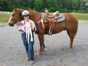 Smoky Mountain Horse Show at Tri-state in Cleveland, Tennessee